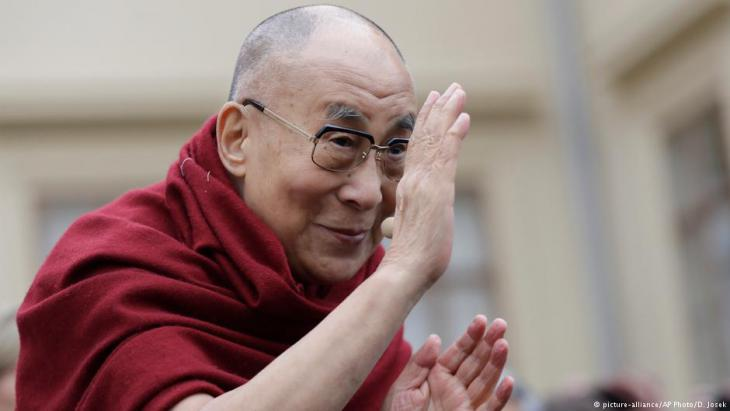 Dalai Lama (photo: picture-alliance/AP Photo/D. Josek)