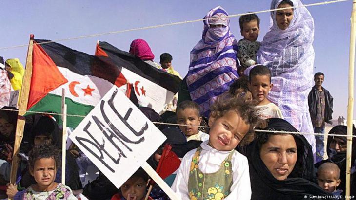 West Saharan refugee camp Smara (photo: Getty Images/AFP)