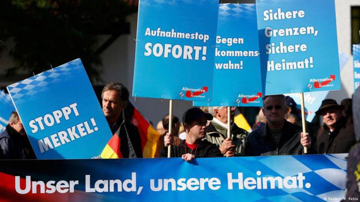 AfD supporters in Bavaria (photo: Reuters)