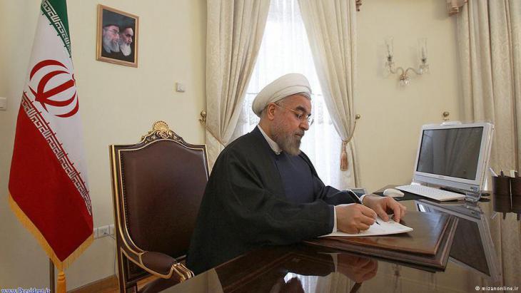 Iran′s president Hassan Rouhani (photo: mizanonline.ir)
