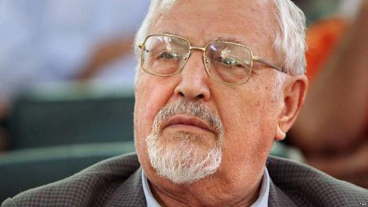 Ebrahim Yazdi (photo: FARS)