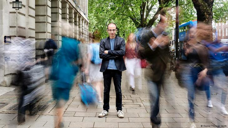 Historian Yuval Noah Harari (photo: Daniel Thomas Smith)