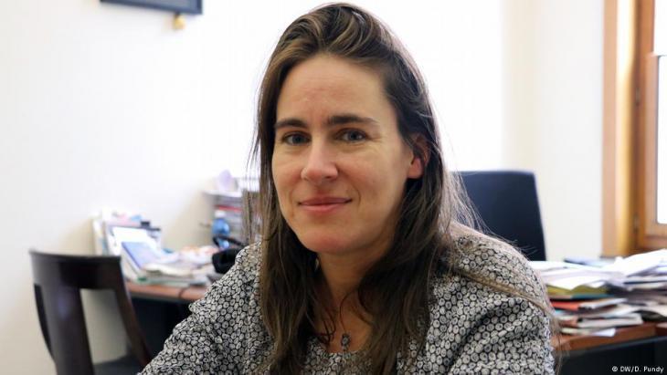 Local politician Sarah Turine (photo: DW)