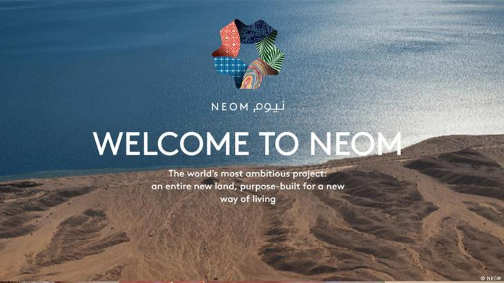 Advertising the proposed Saudi mega-city Neom (source: Neom)