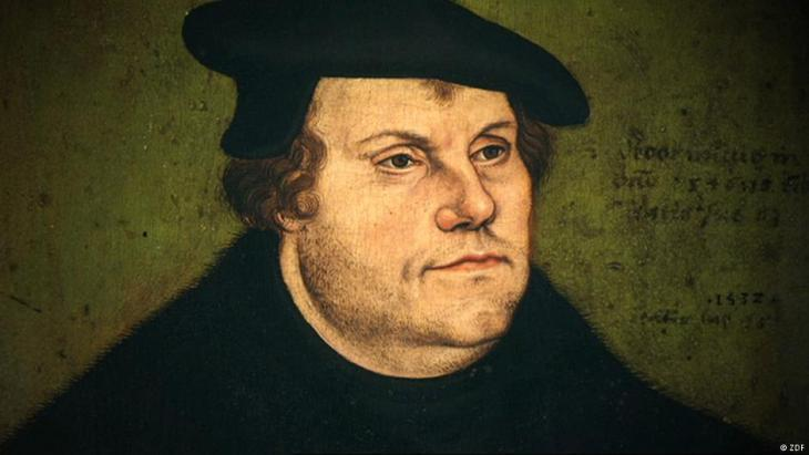 Portrait of Martin Luther (source: ZDF)
