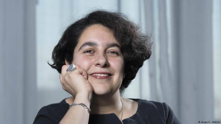 Iranian author Mehrnousch Zaeri-Esfahani (photo: imago)