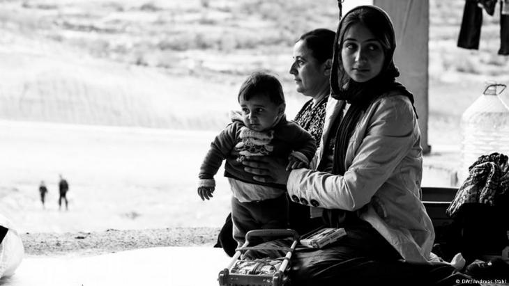 Yezidis in northern Iraq (photo: DW/Andreas Stahl)