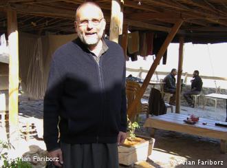 Jesuit priest Paolo dall′Oglio in Mar Musa (photo: Arian Fariborz)