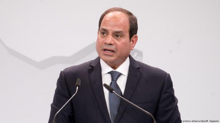 Egyptian President Abdul Fattah al- Sisi (photo: picture-alliance/dpa)