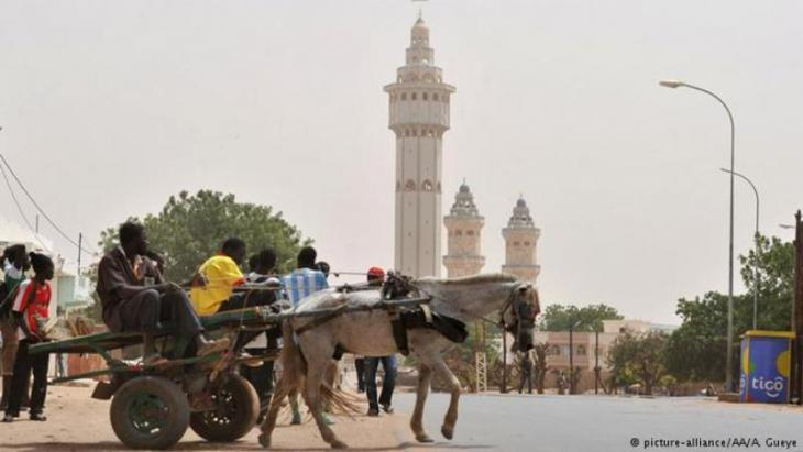 Great mosque in Touba, Senegal (photo: picture-alliance/AA/A. Gueye)