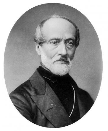Italian freedom fighter and visionary Mazzini (photo: Wikipedia)