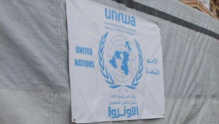 Emblem of the UN Relief and Works Agency for Palestinian Refugees (photo: dpa)