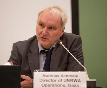 Head of the UN Relief and Works Agency for Palestinian Refugees, Matthias Schmale (photo: UNRWA)
