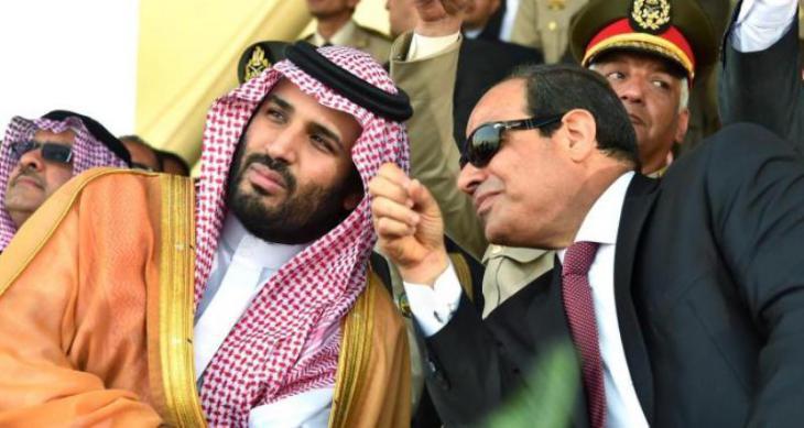 Crown Prince Mohammed bin Salman of Saudi Arabia visits Egyptian President Abdul Fattah el-Sisi (photo: dpa)