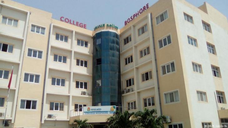 Yavuz Selim school run by the Gulen organisation in Dakar (photo: DW/M. Lamine Ba)