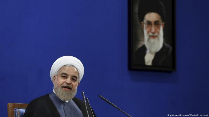 Iranian President Hassan Rouhani (photo: picture-alliance/AP)