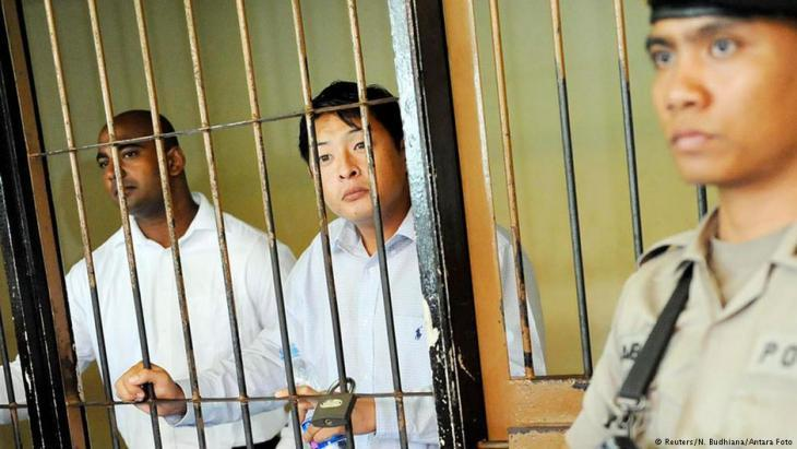 Death sentence for two Australians in Indonesia (photo: Reuters/N. Budhiana/Antara)