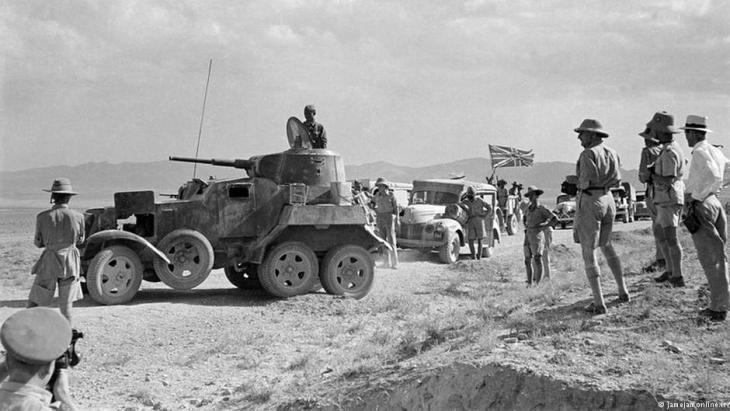 British troops in Iraq during the First World War (photo: jamejamonline.ir)