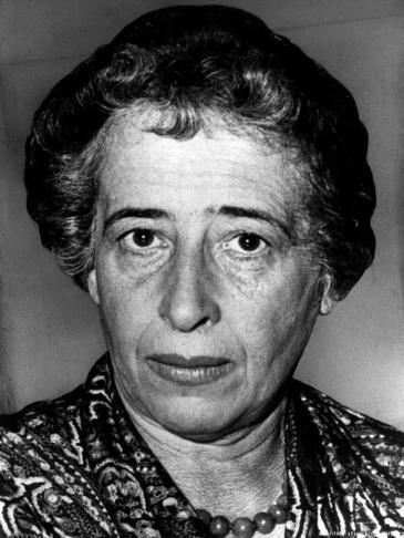 Hannah Arendt in 1958 (photo: dpa/picture-alliance)
