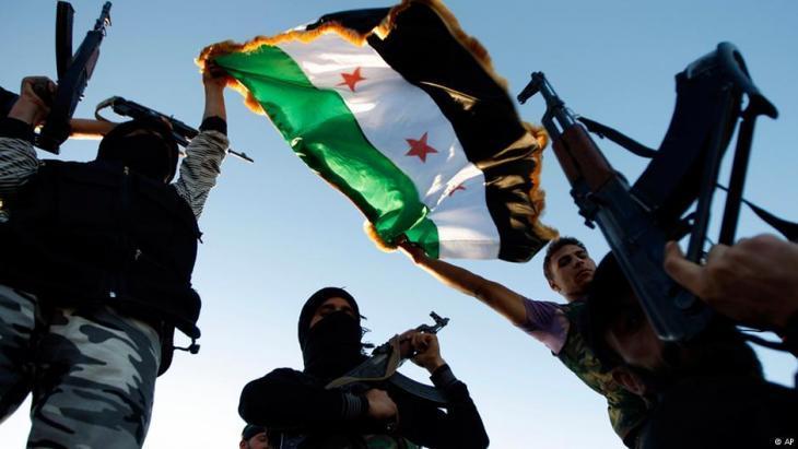 FSA rebels in Idlib (photo: AP)