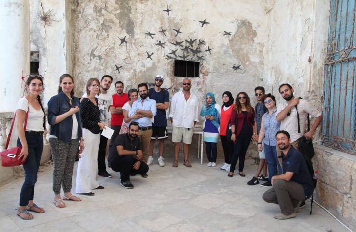 Participants at the Kulturakademie Libya in Tunis (photo: Haithem Boumesouir/Goethe-Institut Tunis)