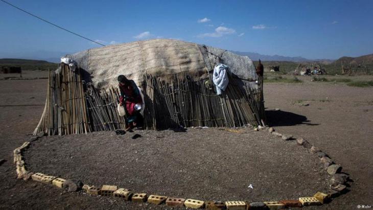 Photo symbolising poverty in Iran (photo: Mehr)