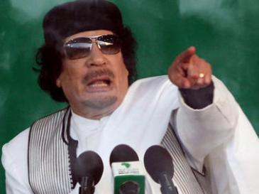 Former Libyan dictator Muammar Gaddafi (photo: dpa)