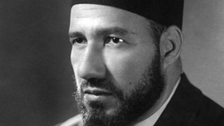 Hassan al-Banna, founding father of Egypt′s Muslim Brotherhood (source: bbc/Archiv)