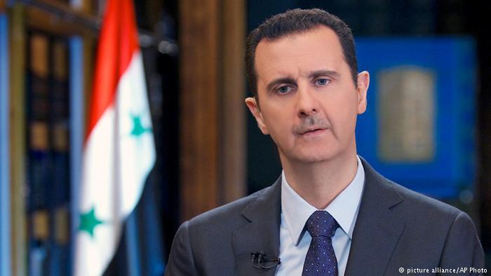 Syria′s president, Bashar al-Assad (photo: picture-alliance/AP)