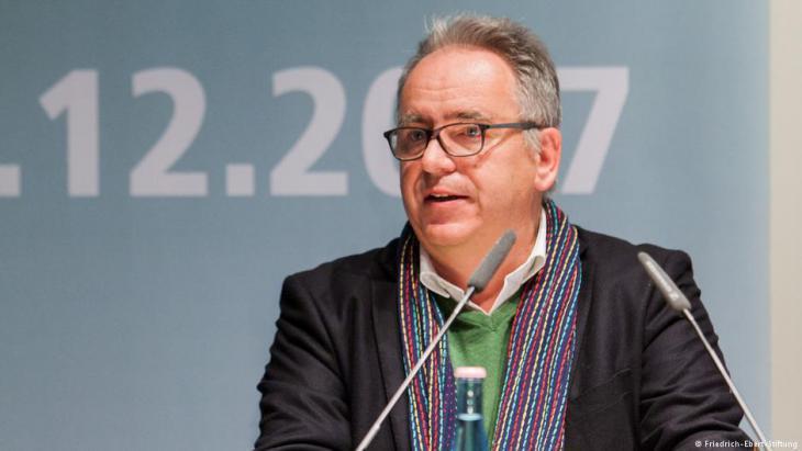 Professor Jorg Gertel from the University of Leipzig (photo: Friedrich Ebert Foundation)