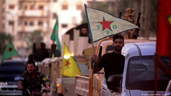 Syrian YPG fighters in Qamishli (photo: Getty Images/AFP/D. Souleiman)