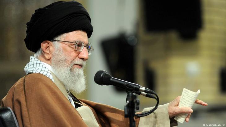 Ayatollah Ali Khamenei (photo: Reuters)