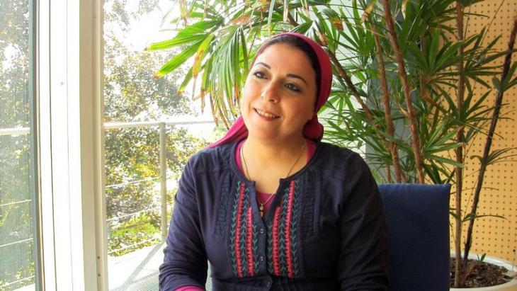 Esraa Abdel Fattah (photo: YouTube)
