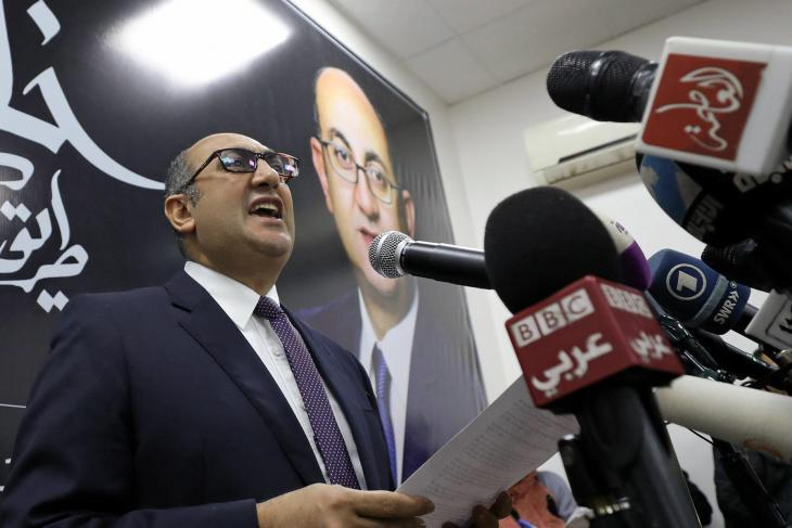 Leading Egyptian human rights lawyer Khaled Ali (photo: Mohamed Abd el Ghany/Reuters)