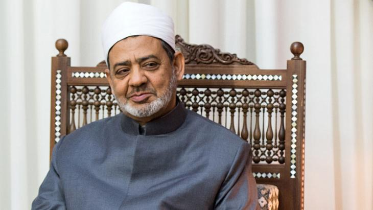 Ahmad al-Tayeb, Grand Imam of Al-Azhar (photo: dpa)