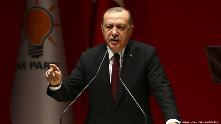 Turkish President Recep Tayyip Erdogan (photo: picture-alliance/abaca)