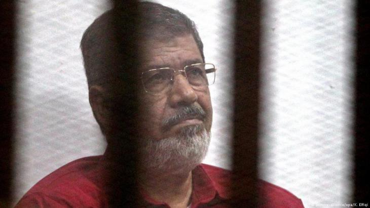 Detained former President Mohammed Morsi (photo: dpa/picture-alliance)