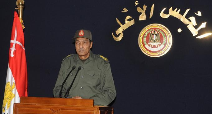 Egypt′s Field Marshall Mohamed Hussein Tantawi, head of the Supreme Council of the Armed Forces (SCAF) (photo: AP)