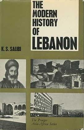 Cover of Kamal Salibi′s ″The Modern History of Lebanon″