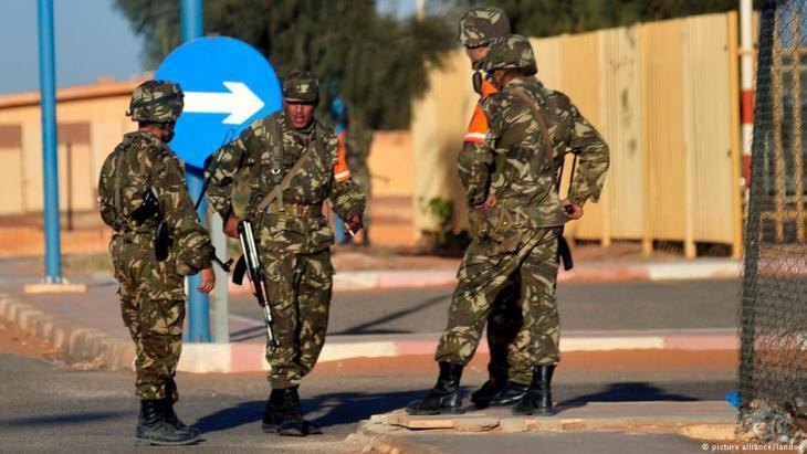 Algerian security forces (photo: picture-alliance/landov)