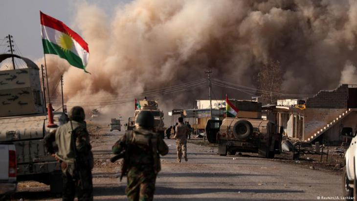 Pershmerga in Iraq during an offensive against IS jihadists (photo: Reuters)