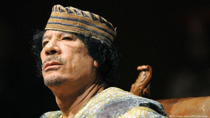 Libyaʹs former dictator Muammar Gaddafi (photo: Christophe Simon/AFP/Getty Images)