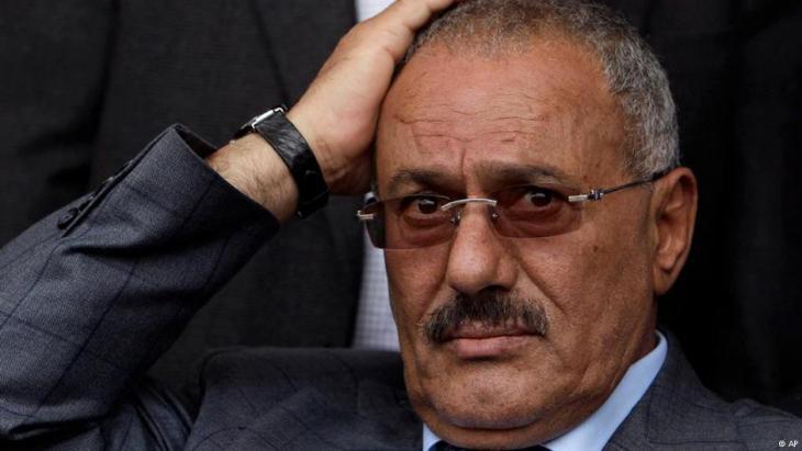 Yemenʹs former president Ali Abdullah Saleh (photo: AP)