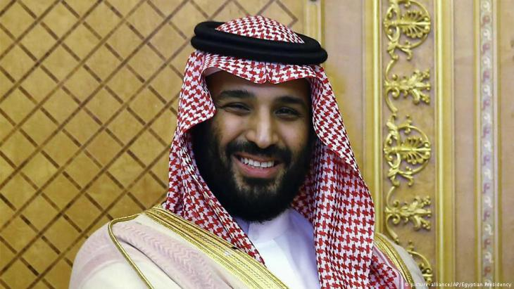 Saudi Crown Prince Mohammed bin Salman (photo: picture-alliance/AP)