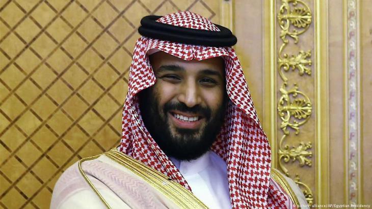 Saudi Crown Prince Mohammed bin Salman (photo: picture-alliance/AP)