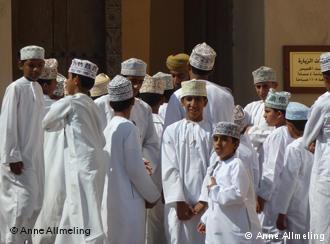 Koran students in Oman′s capital, Muscat (photo: DW)