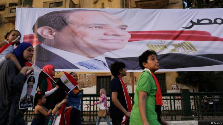 Abdul Fattah al-Sisi's campaign kicks off in Cairo (photo: Reuters)