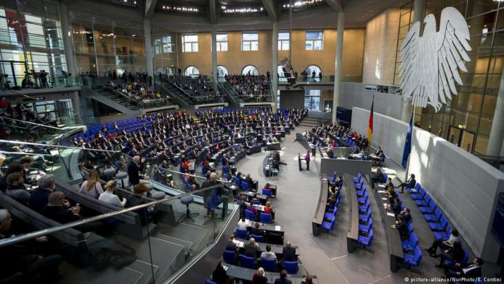 Parliament in session in the German Bundestag (photo: picture-alliance)