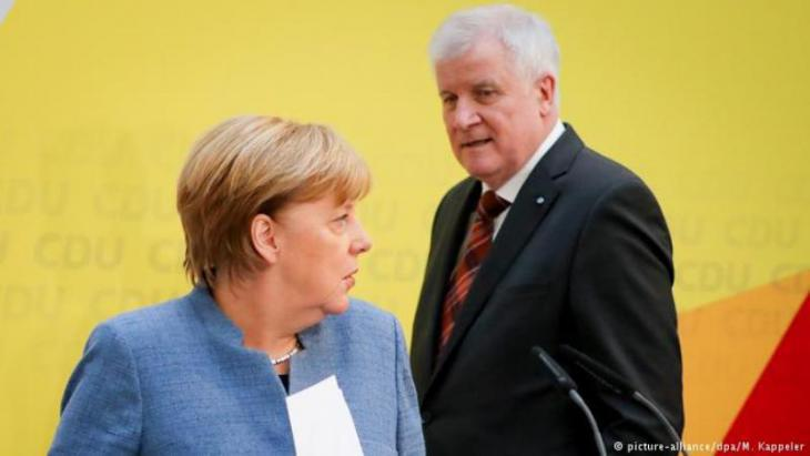 Angela Merkel and Horst Seehofer (photo: picture-alliance/dpa)