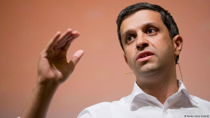 Raed Saleh, parliamentary leader of Berlin's Social Democratic Party (photo: Reuters/Axel Schmidt)